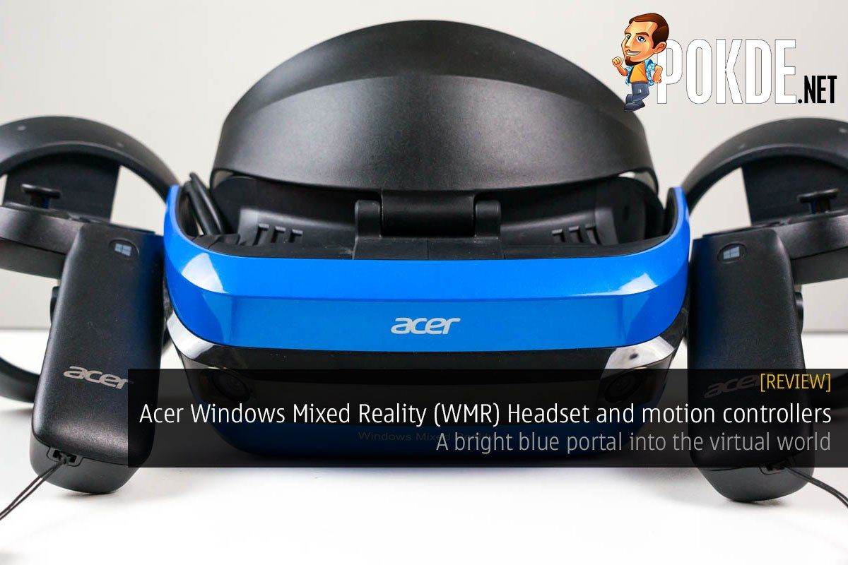 Acer Windows Mixed Reality (WMR) Headset and motion