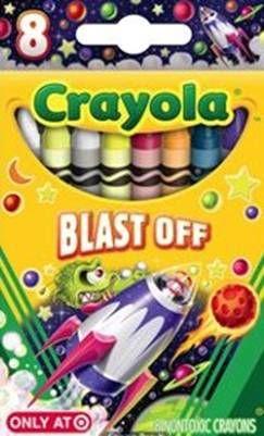 Crayola Blast Off crayons