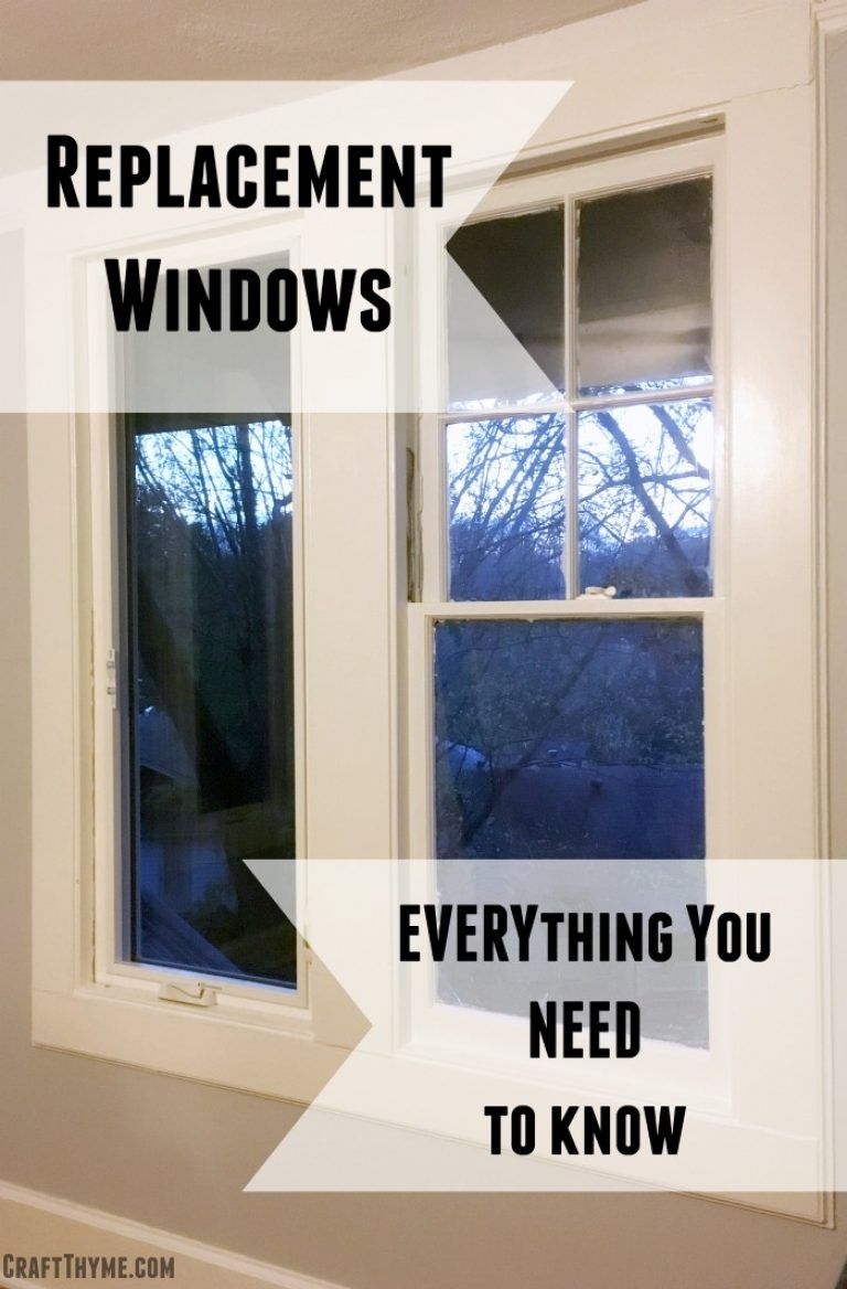 Everything You Need To Know About Vinyl Replacement Windows Our
