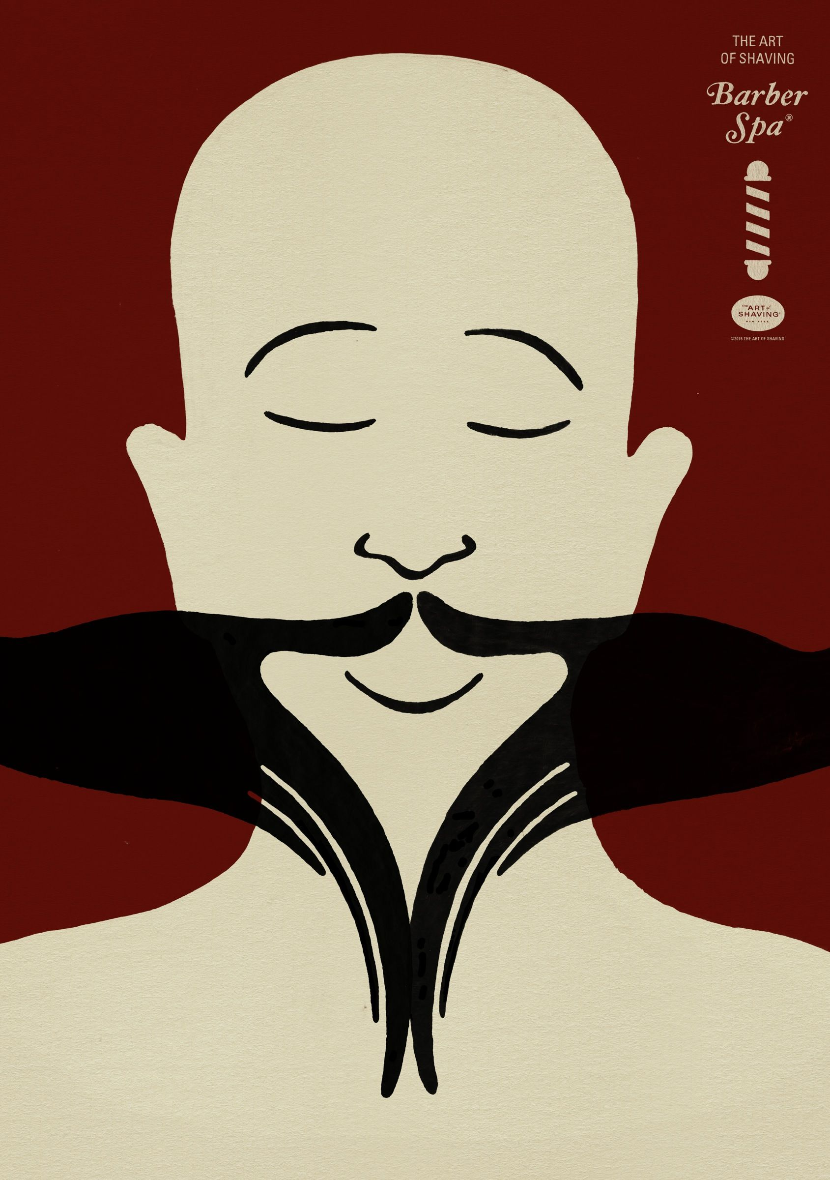 The Art Of Shaving Barber Spa 2 Graphic Design Advertising Bbdo The Art Of Shaving