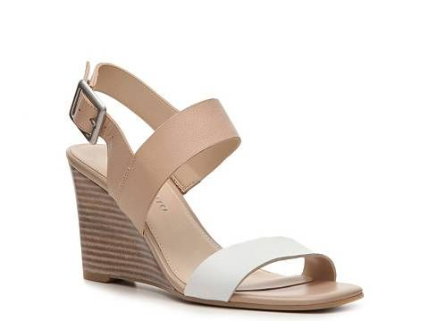 e6ad7d20d7 Franco Sarto Hooper Leather Wedge Sandal | DSW | My Style | Shoes ...