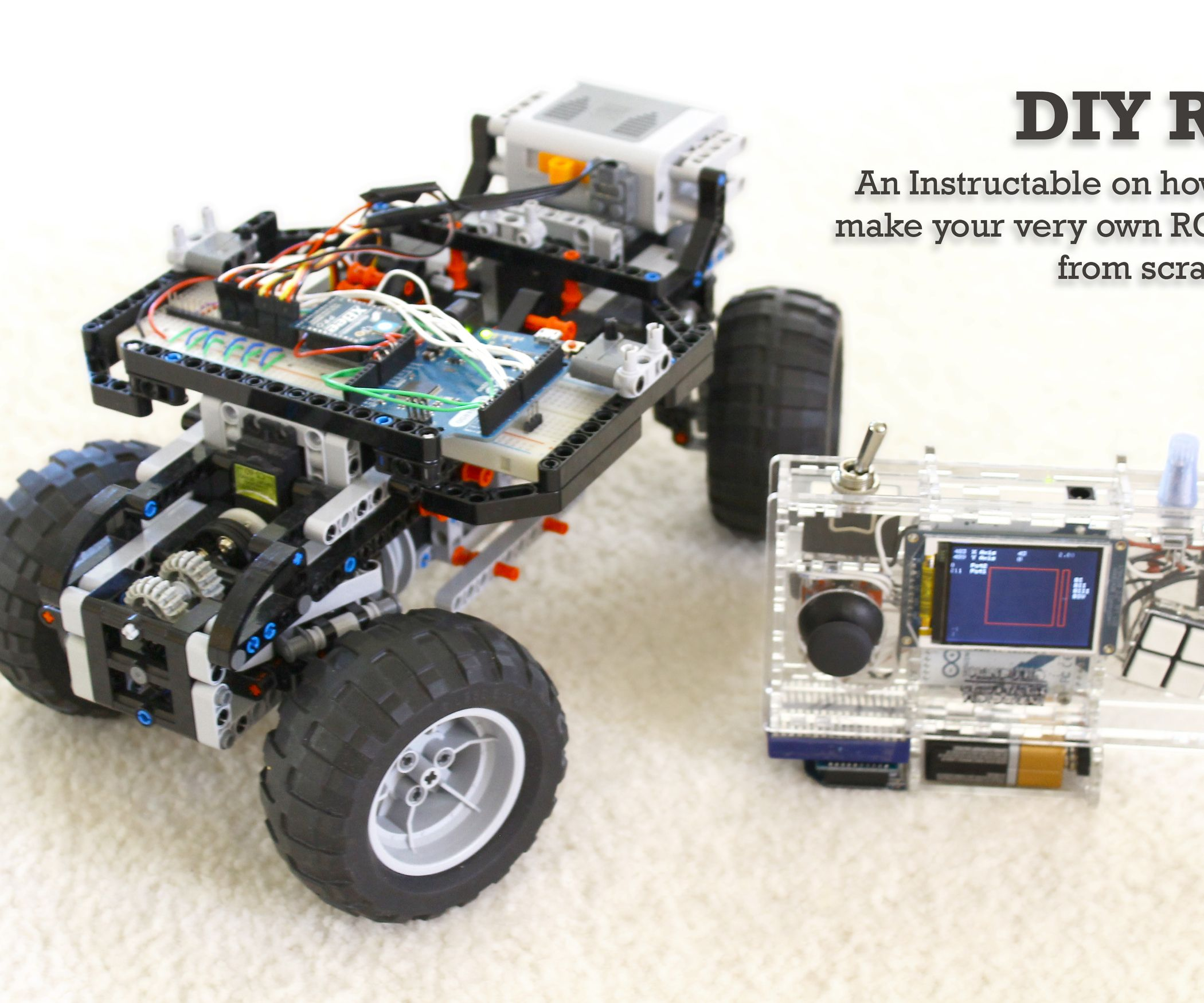 DIY Arduino Remote Control and Lego RC Vehicle!! | Pinterest ...