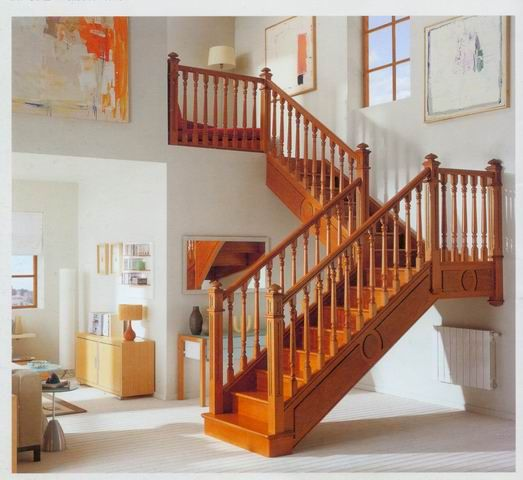 Best Hot Item Complete Solid Wood L Shape Staircase Sh8008 400 x 300