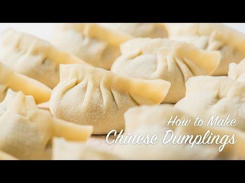 CHINESE CHIVES DUMPLINGS recipe – YANYUM 4 (饺子 교자 중국 만두 餃子) - YouTube