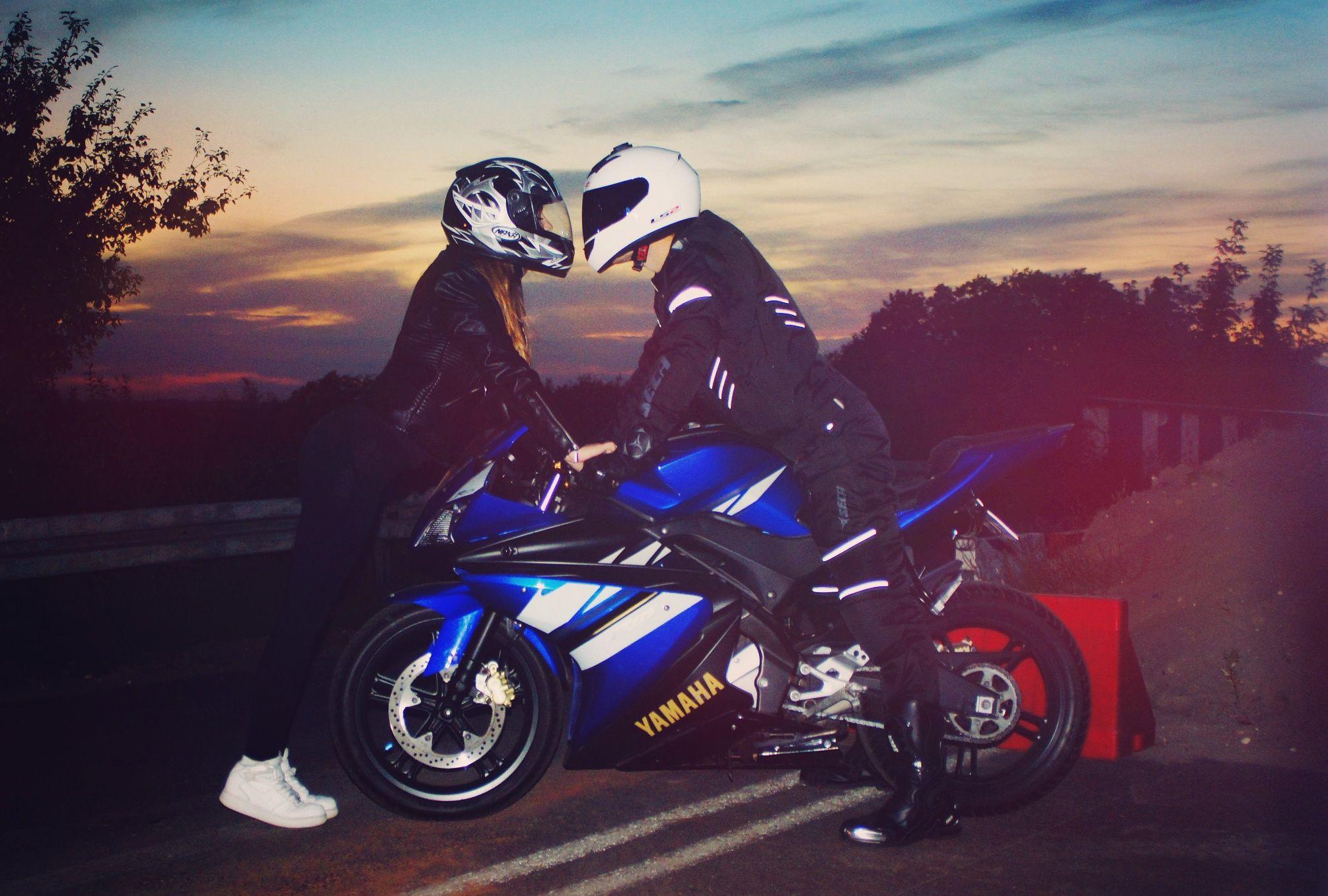 Motorcycle Motocykle Love Couple Cute Tumblr Motolove
