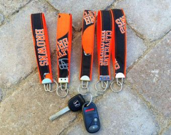 Cleveland Browns Key Fob Wristlets - Cleveland, Ohio - CLE Key Fobs