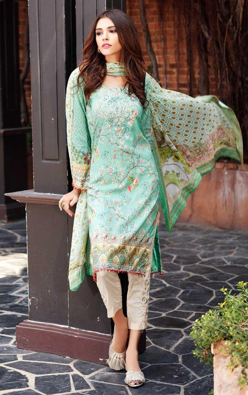 Sana Safinaz Collection Pakistan JadeGreen | Kurta | Pinterest