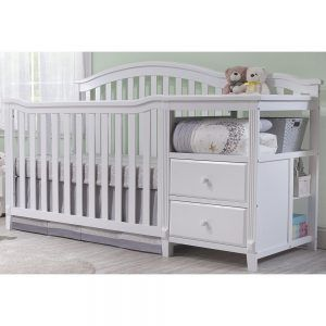 Baby Bed With Changing Table Attached | Baby\'s room | Crib ...