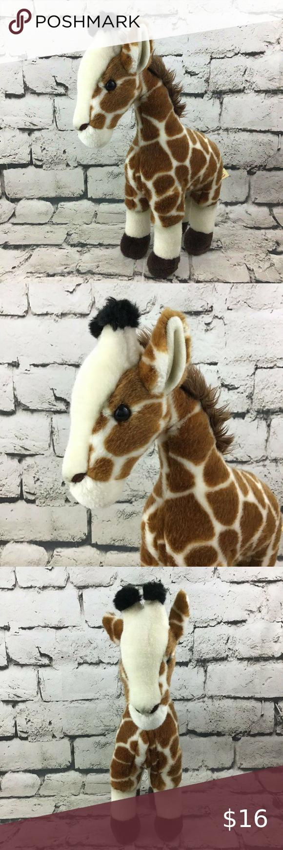 Miyoni By Aurora 16 Large Giraffe Plush Giraffe Plush Large Giraffe Plush Stuffed Animals [ 1740 x 580 Pixel ]
