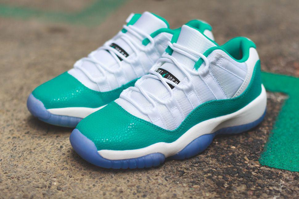 df520f3803fb Air Jordan 11 Retro Low Girls  Turbo Green  (Release Reminder   Pics) - EU  Kicks  Sneaker Magazine