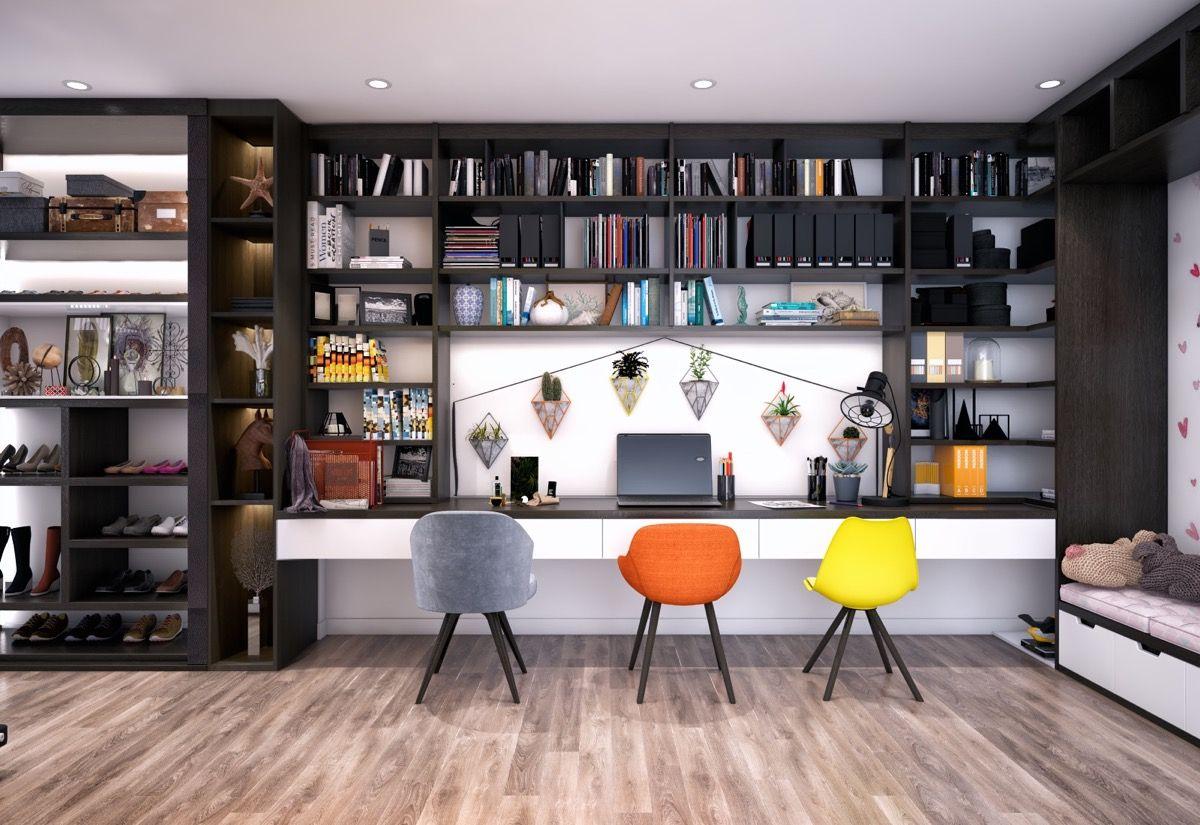 51 Modern Home Office Design Ideas For Inspiration Art Deko Ideyi