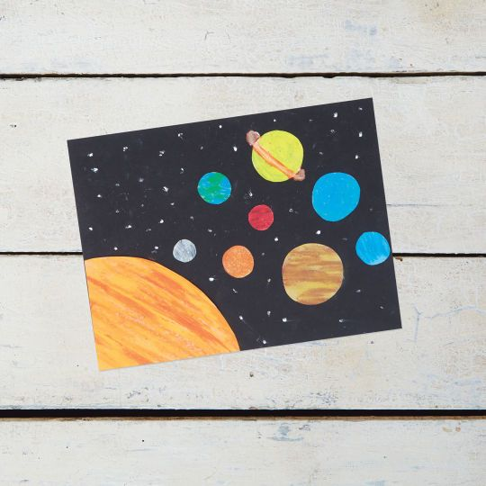 paper solar system - photo #7