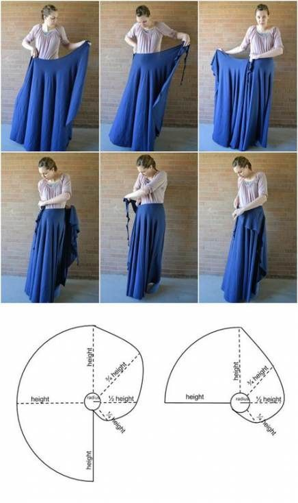 65 Ideen für Nähprojekte Kleidung Vintage Wickelkleider