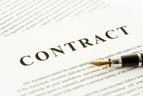 Here is a handsome-looking contract--with a nifty indemnity and a - hold harmless agreements
