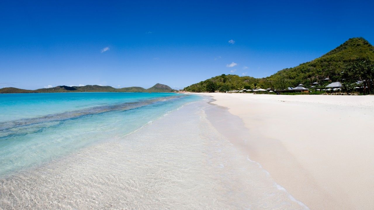 Hermitage Bay 5k 4k Wallpaper 8k Antigua Barbuda Beaches Beach