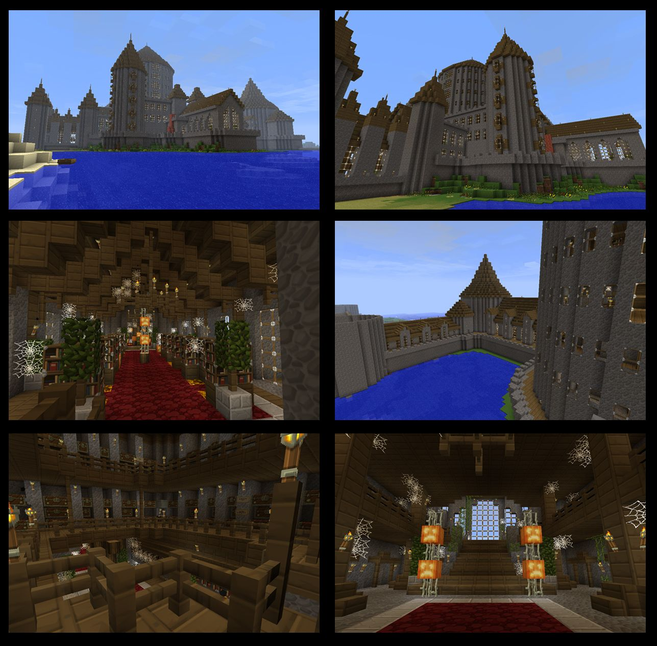 Minecraft Castle Tower Roof