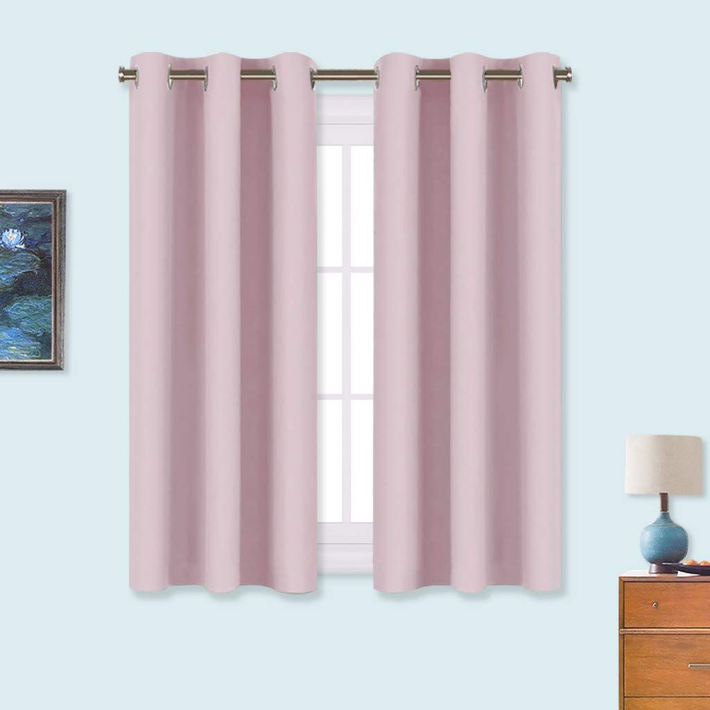 Curtains Pelmets For Nursery Girls Room Light Pink Eyelet Blackout Curtains Thermal Insulated Home Furniture Diy Omnitel Com Na