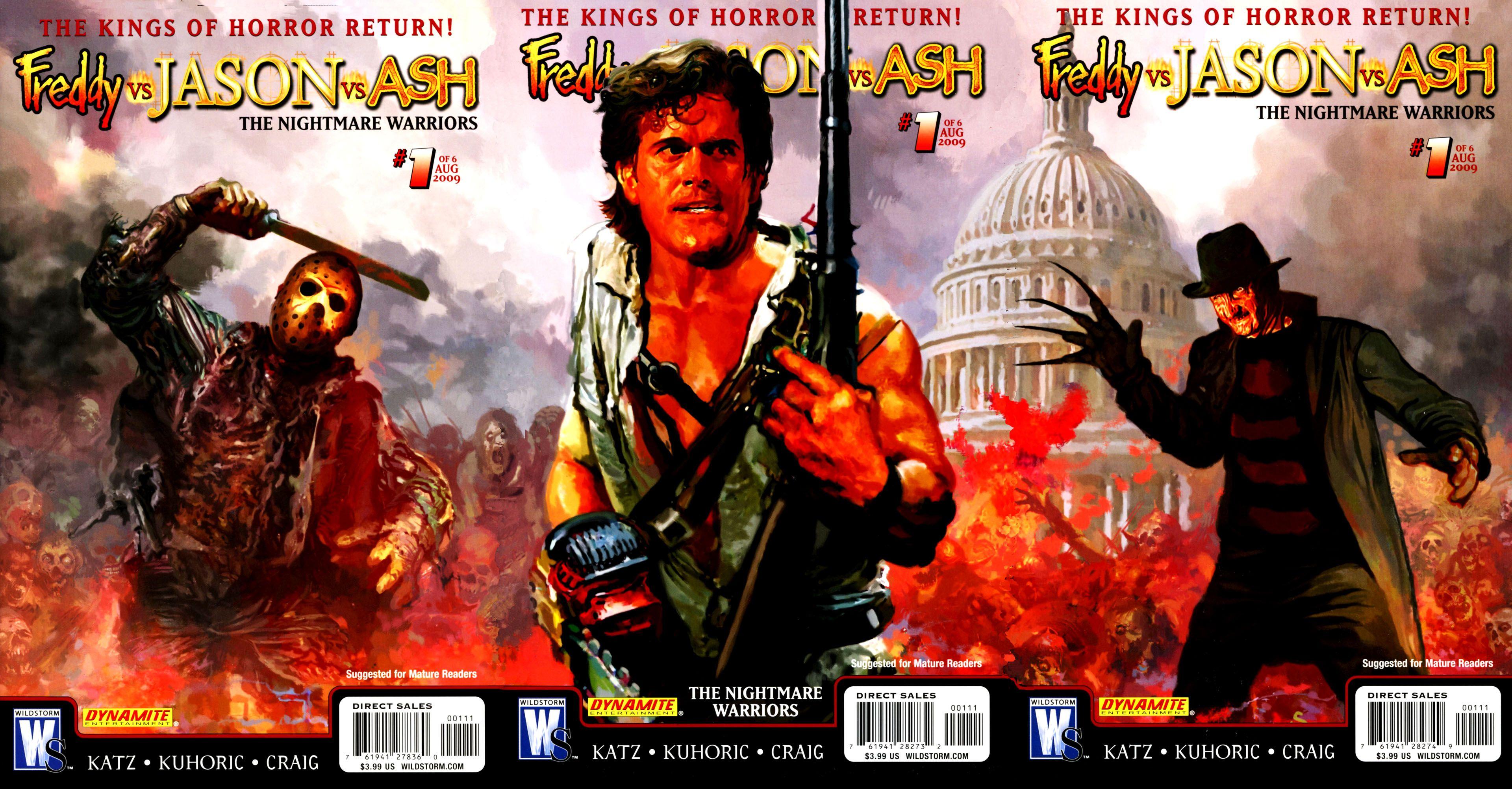 Freddy Vs Jason Ash Nightmare Warriors
