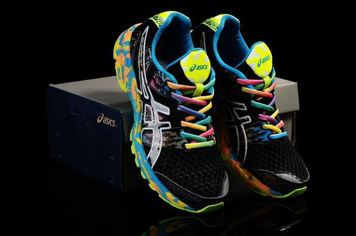 Asics Hombre Gel Noosa TRI 8 Running Shoes Negro/Verde