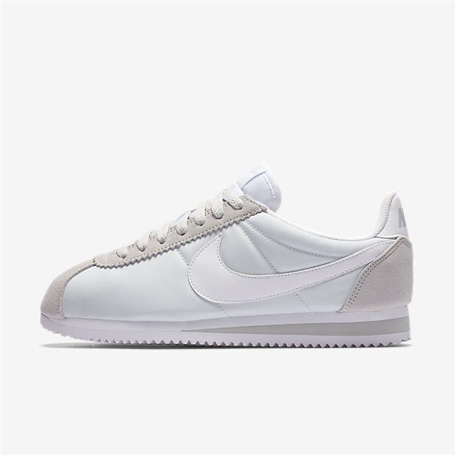 new product 11c3f 54555 Nike Classic Cortez 15 Nylon (Pure Platinum  White)