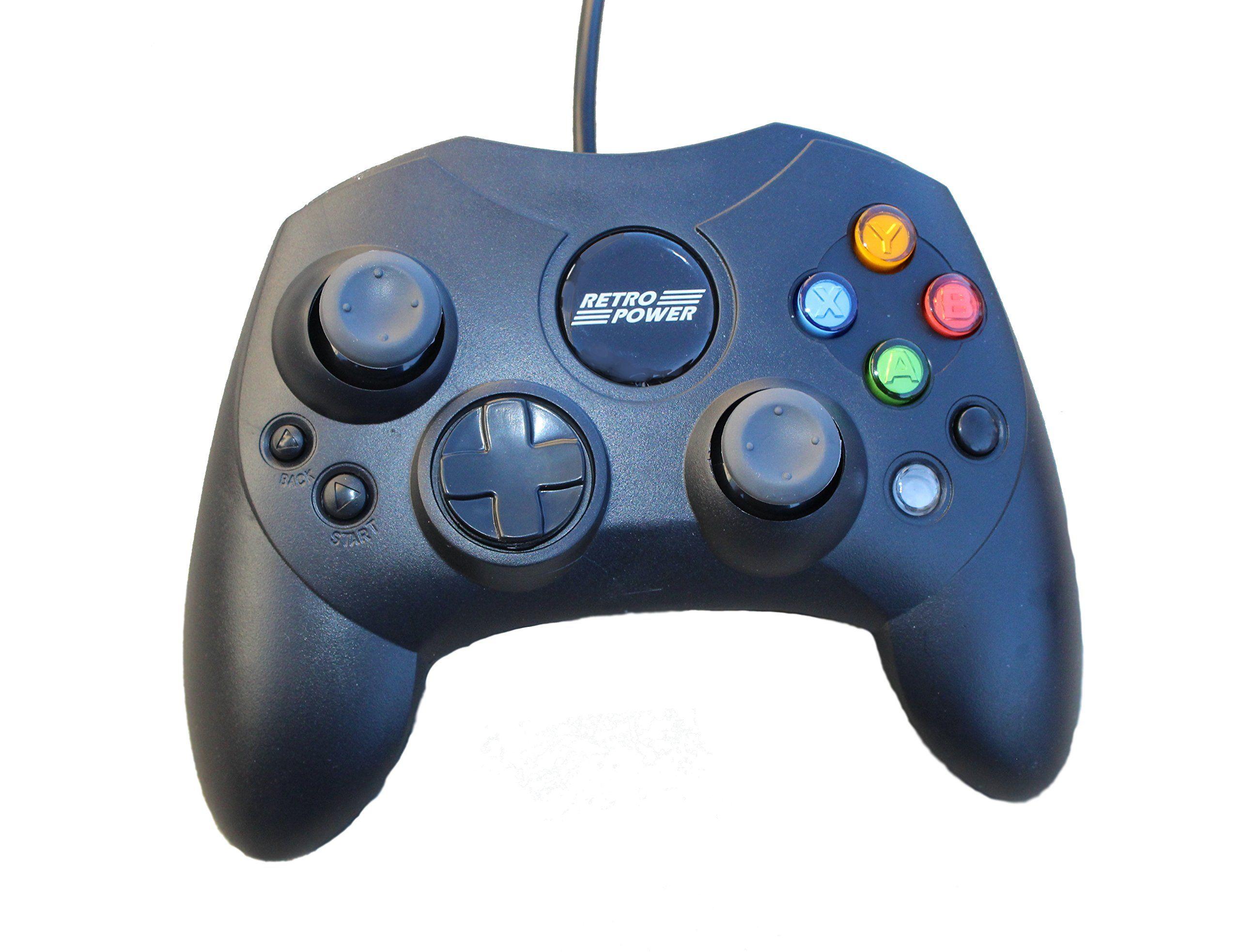 3 USB Classic Controllers Gamecube Sega Saturn Microsoft Xbox ...