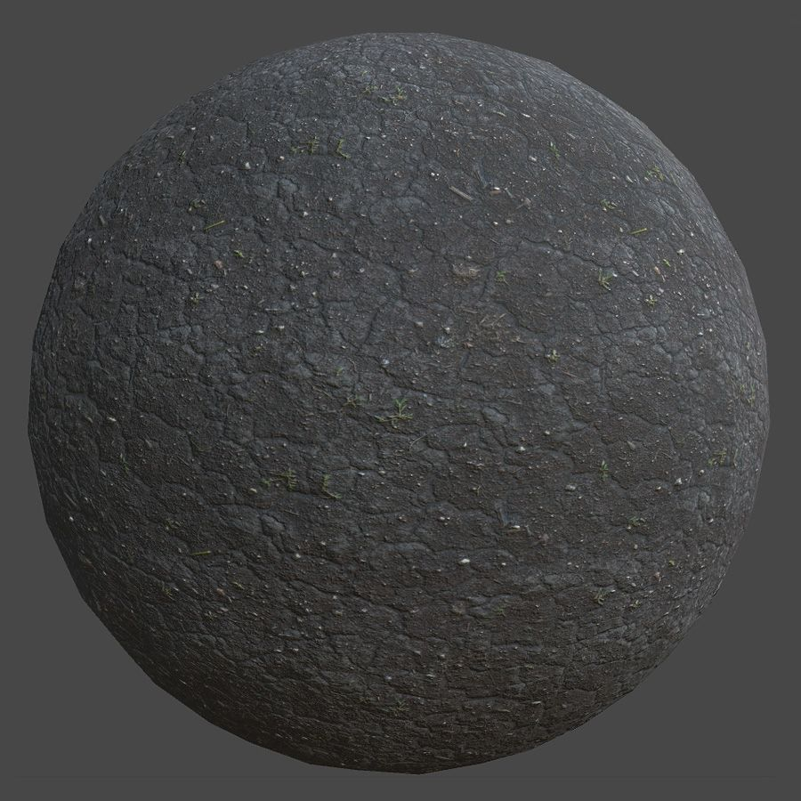 Dry Dirt PBR Material Physically based rendering, Game