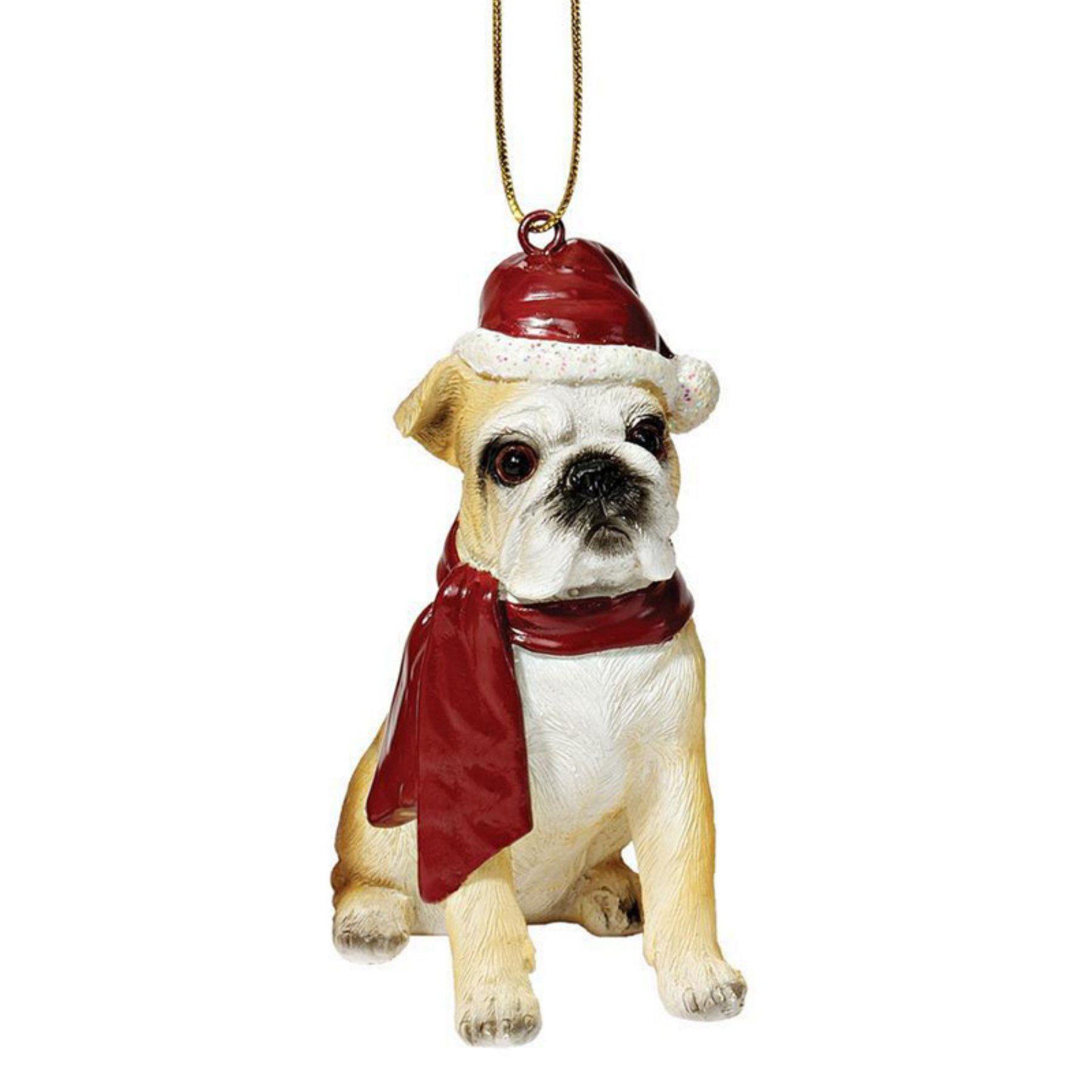 055b607f439 Design Toscano Bulldog Holiday Dog Ornament - JH576304