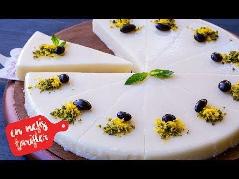Limonlu Sütlü İrmik Tatlısı Nasıl Yapılır? Limonlu İrmik Tatlısı Tarifi (Hafif Yaz Tatlıları) - YouTube