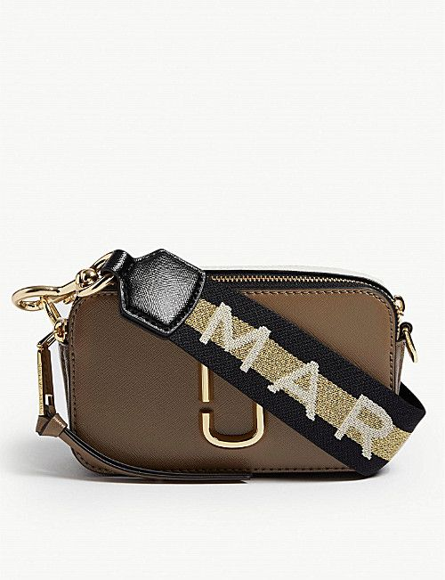 9adc7ceb600a MARC JACOBS Snapshot Saffiano leather cross-body bag