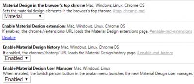 Eng 10 Poleznyh Flagov V Google Chrome Http Www Thewindowsclub Com Google Chrome Flag Settings Windows Chrome History Design Material Design