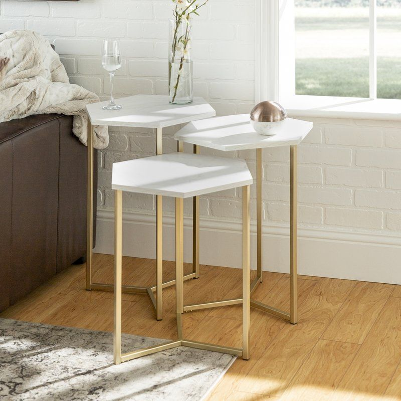 Labounty 3 Piece Nesting Tables Nesting Tables Nesting End