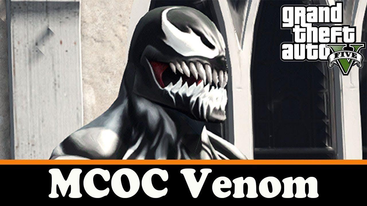 GTA 5 скины - MCOC Venom | Обзоры игр и модов! | Мода и Игры
