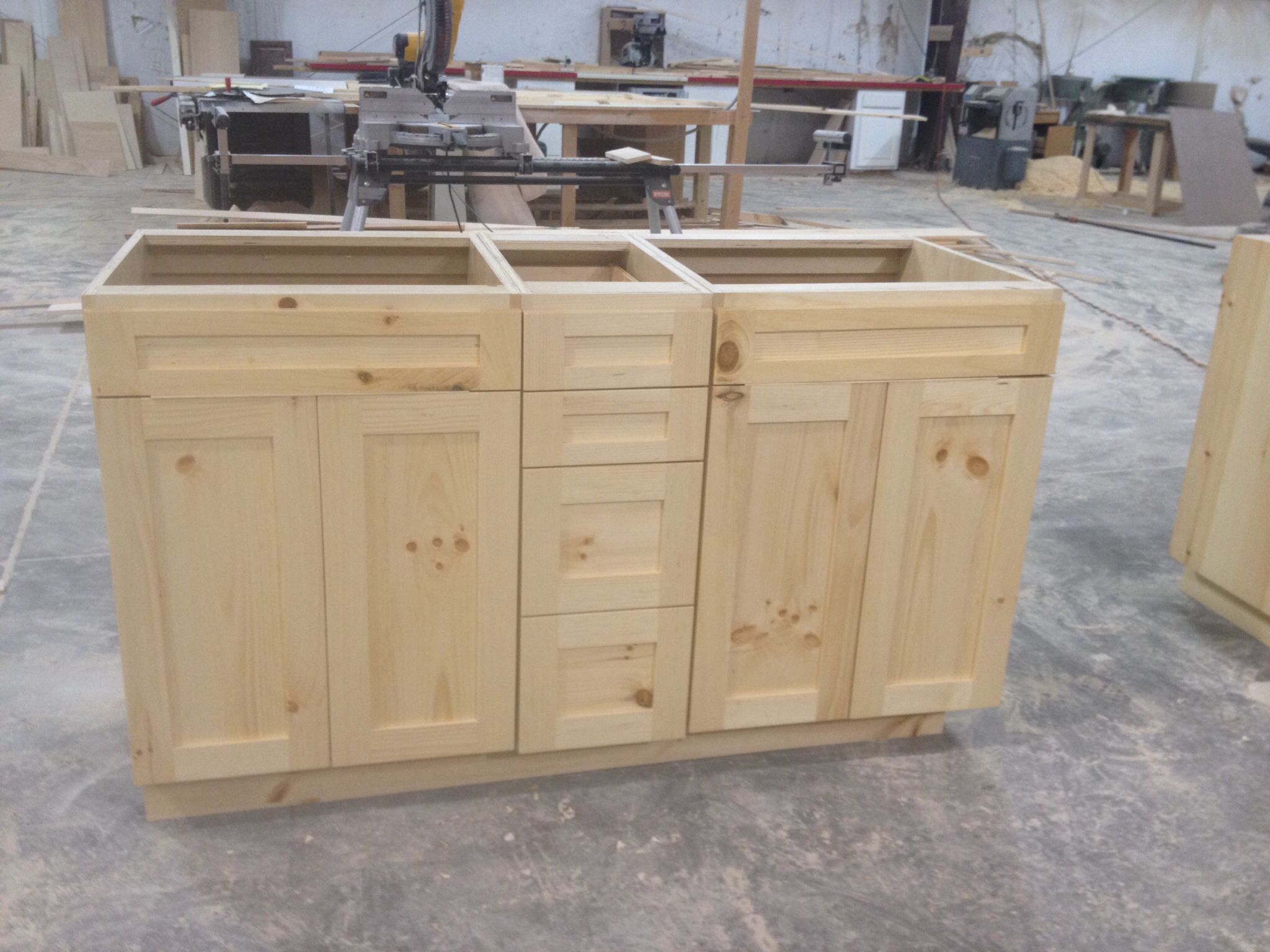 knotty pine vanities frameless with finish turned out beautiful ga custom cabinets and