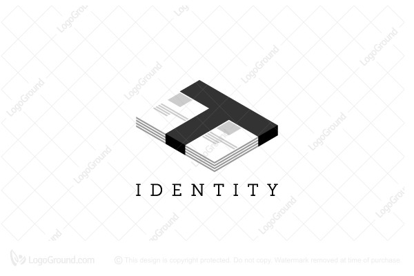 Letter T Text Logo Text Logo Typographic Logo Lettering