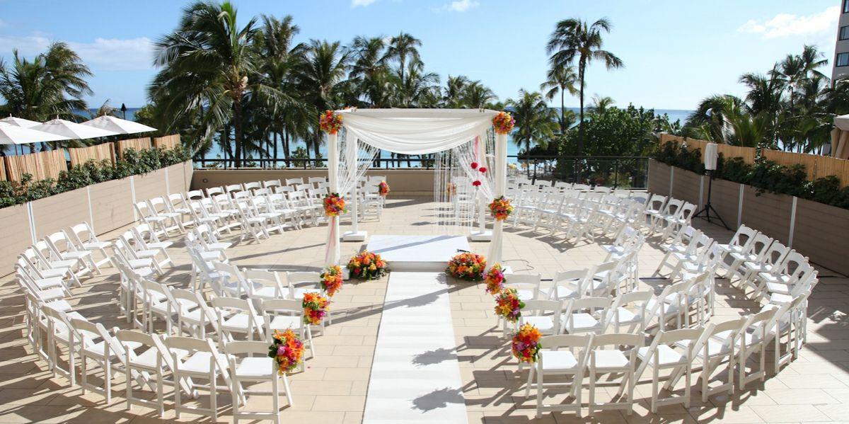 Beach Resort Spa Weddings Prices Oahu Wedding Venues