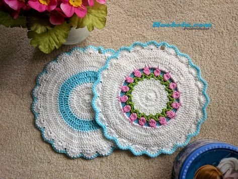 Topflappen Häkeln Rosanna Kostenlose Anleitung Häkeln Crochet