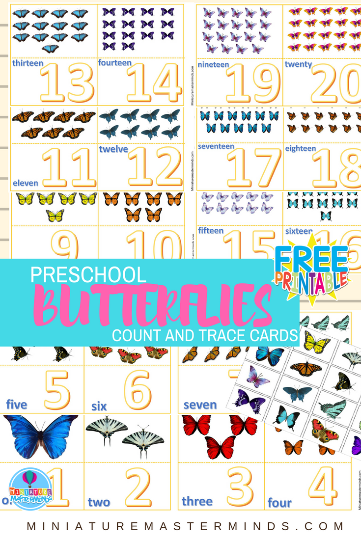 Count And Trace Frogs Number Cards 1 to 12 | Numbers | Pinterest ...