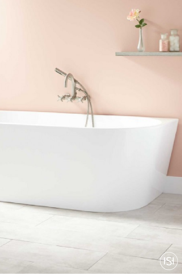 Pamper yourself in style in the modern rectangular shape of the Arrington Acrylic Freestanding Tub. This distinctive tub makes bathing a joy and instantly establishes itself as the focal point of your bathroom.