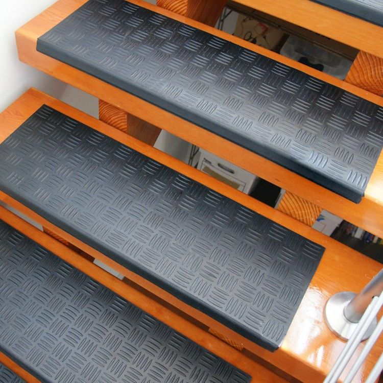 Rubber Stair Treads for Safety and Trendy Look | Maria-alquilar ...