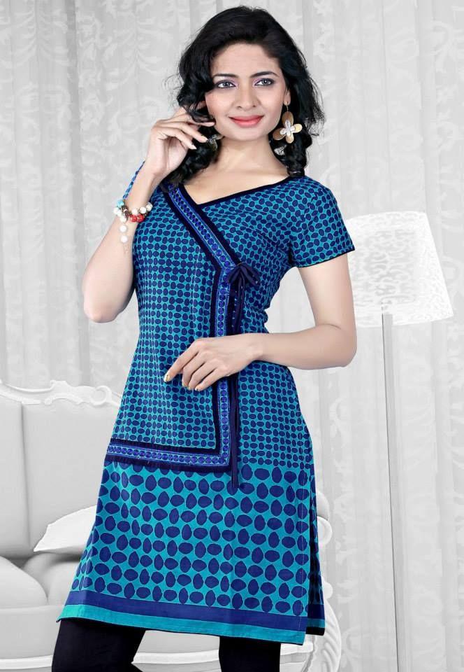 1a108e37a3d Fancy Style Indian Summer kurti Design 2014 for Teen Girls (8 ...