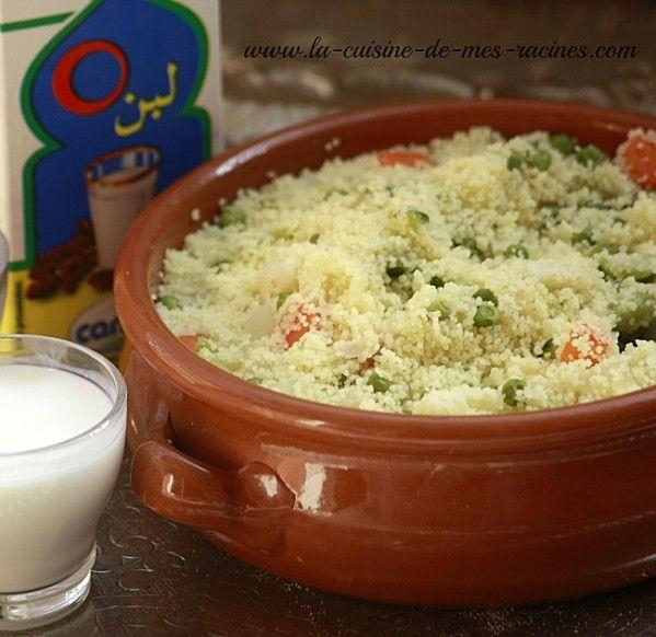 Couscous aux l gumes la vapeur une variante assez for Cuisine kabyle