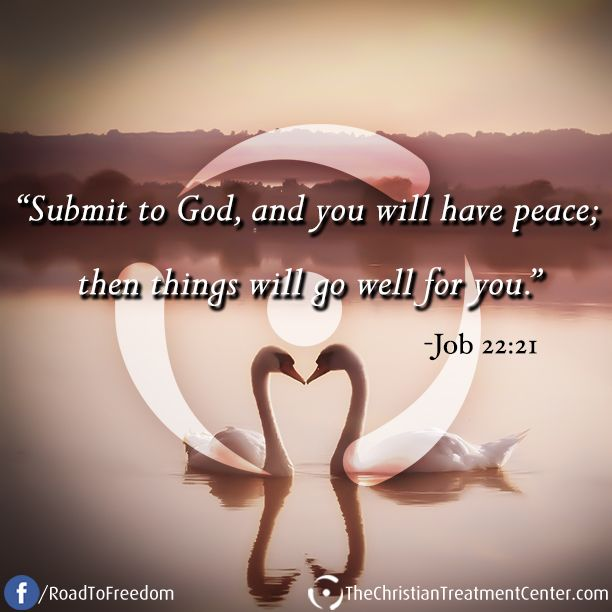 "You Inspiration Hut Submit Your Inspiration: ""Submit To God, And You Will Have Peace; Then Things Will"