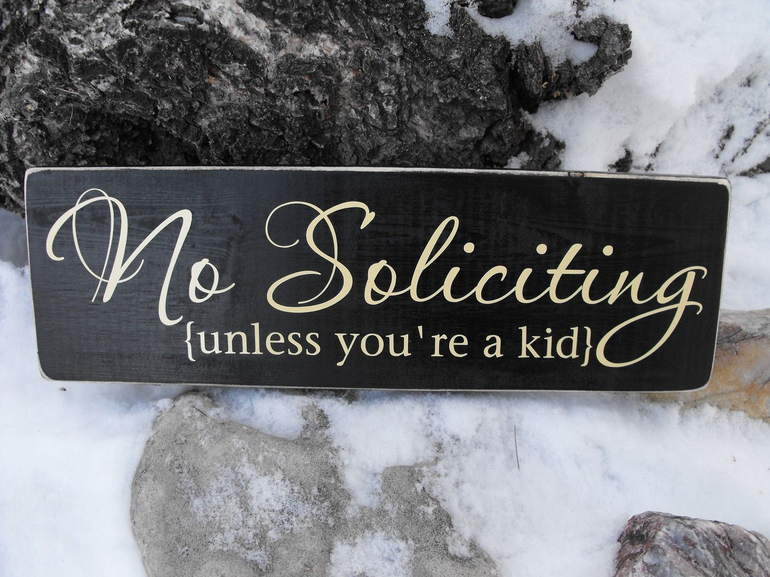 Great sign...and so true!