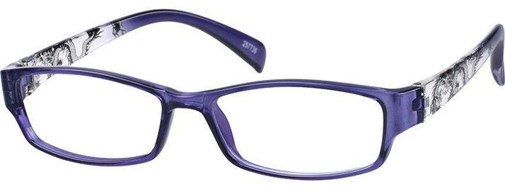 e07295cdbed5 Purple Rectangle Glasses  257736