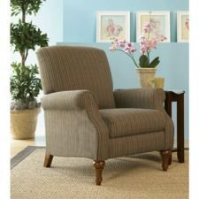 raleigh high leg reclining chair   small comfortable