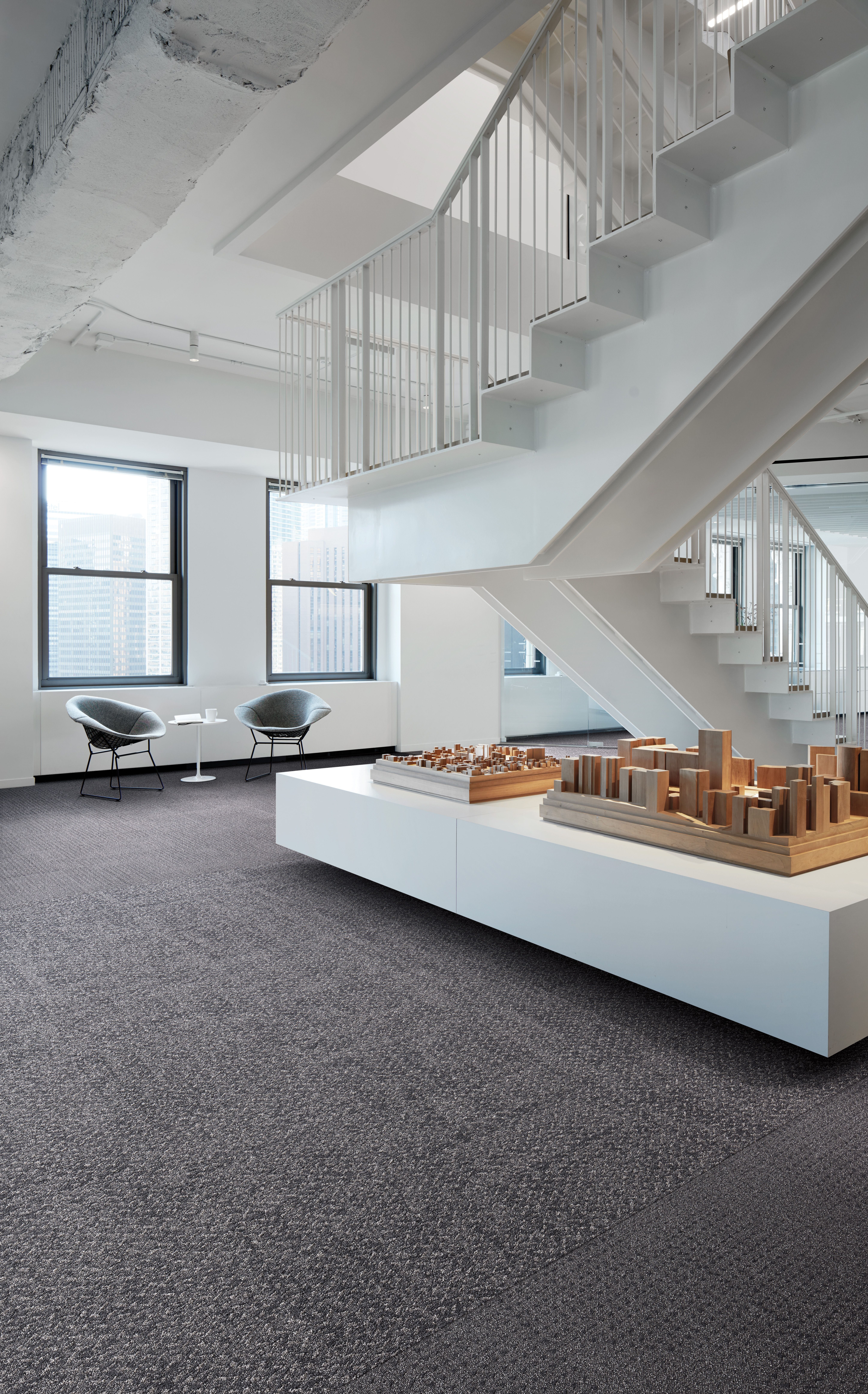 Create A Modern Environment That S Both Sustainable And On Trend Inspired By Two Iconic Cities Ny Lon Streets Features C In 2020 Neutral Carpet Carpet Tiles Design