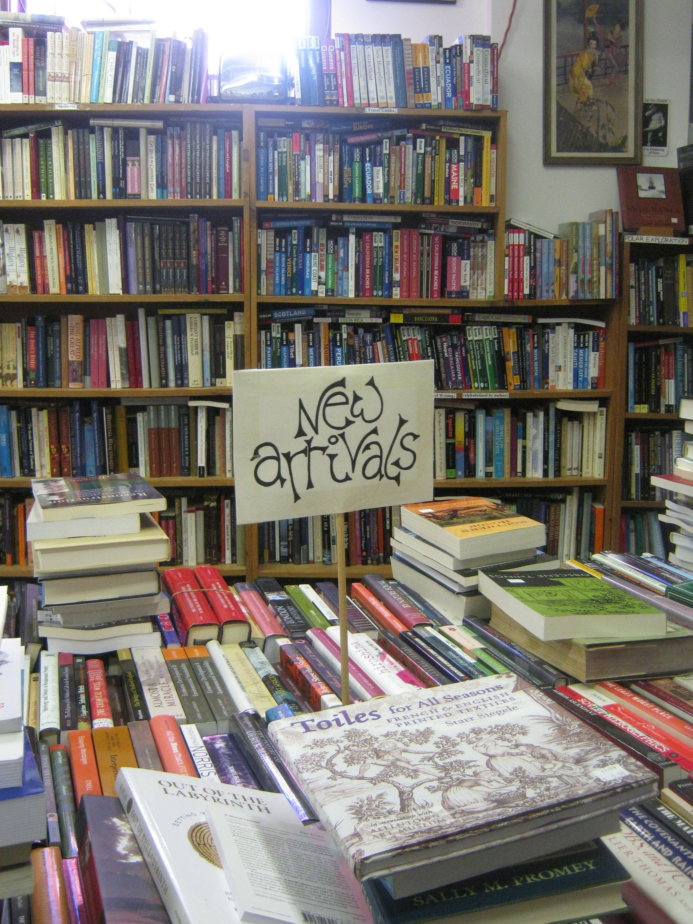 New Arrivals, Raven Books, Northampton, Massachusetts