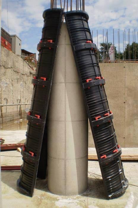 Encofrado De Columnas Ingenier 237 A Civil Construccion