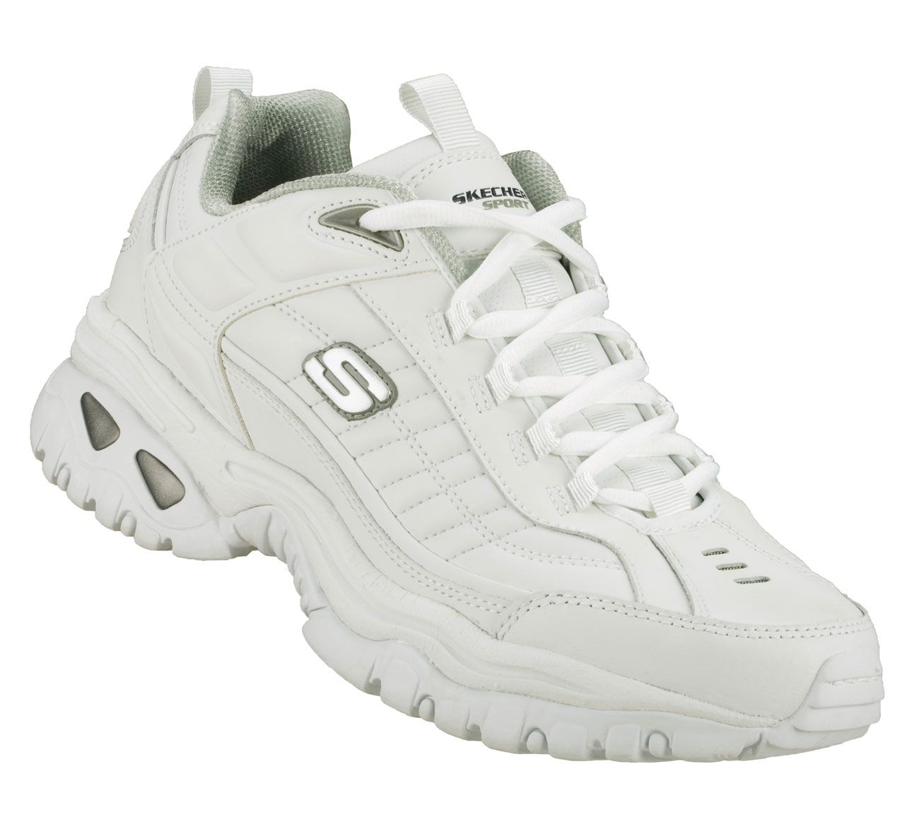 For the Guys: Skechers Men's Energy - After Burn Training Shoes. Leather  upper in