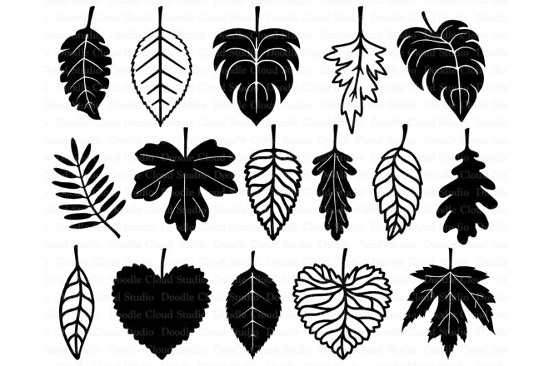 Free Leaf Svg Leaves Svg Files Crafter File Leaf Clipart Svg Free Files Free Svg Files Monogram